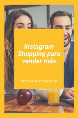 Instagram Shopping para vender