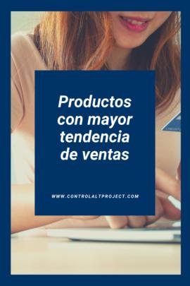 Productos con mayor tendencia de ventas